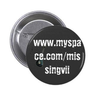 Botón redondo - modificado para requisitos particu pin redondo de 2 pulgadas