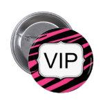 Botón redondo personalizado del fiesta del texto pin