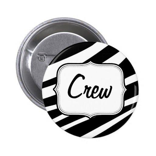 Botón redondo personalizado del fiesta pins