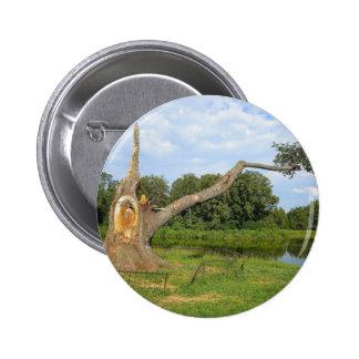 Botón redondo pins