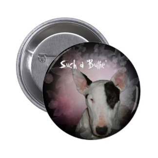 Botón redondo/Pin del ¼ rosado de la mariposa 2 de Pin Redondo De 2 Pulgadas