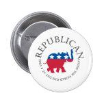 Botón republicano pin