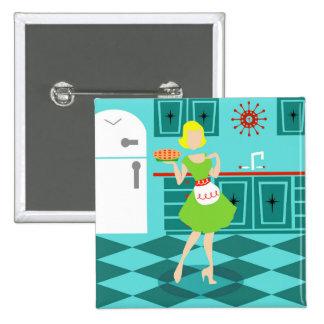Botón retro de la cocina