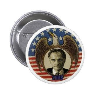 Botón retro de Nader Eagle