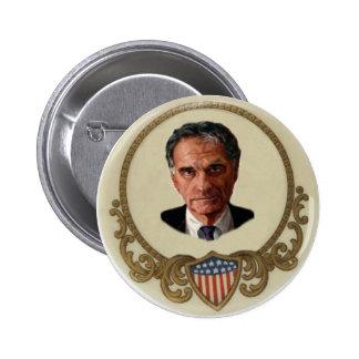 Botón retro de Nader Pin