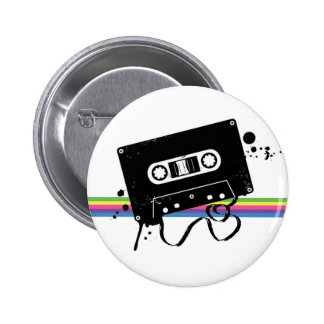 Botón retro del amor pin redondo de 2 pulgadas