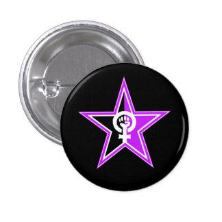 botón revolucionario Anarcha-feminista Pin Redondo De 1 Pulgada