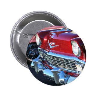 Botón rojo clásico del coche pins