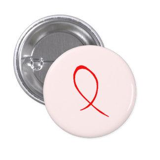 Botón rojo de la cinta