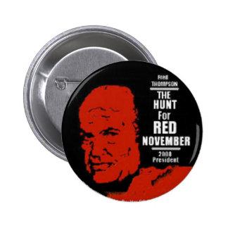 Botón rojo de noviembre