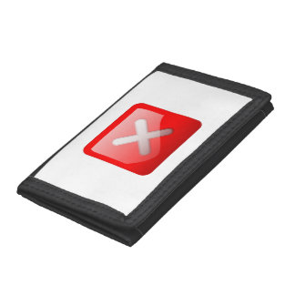 Botón rojo de X