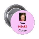 Botón rosado de Backgroud <3 Casey Pin