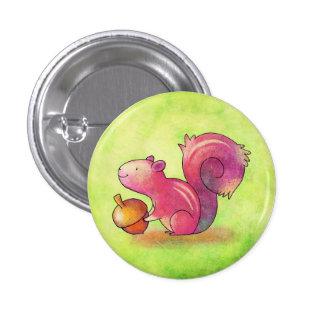 Botón rosado de la ardilla