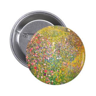 Botón rosado de las flores de Gustavo Klimt