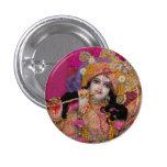 Botón rosado de Sri-Krsna mini Pins