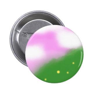 Botón rosado del cielo 1 pins