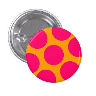 Botón rosado del lunar pin