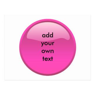 botón rosado postales