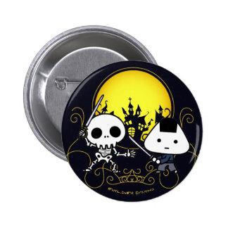 Botón - samurai de RiceBall CONTRA el esqueleto Pins