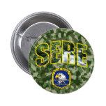 Botón SECO del remiendo de la fuerza aérea Pin