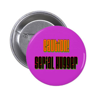 Botón serial de Hugger de la precaución Pin