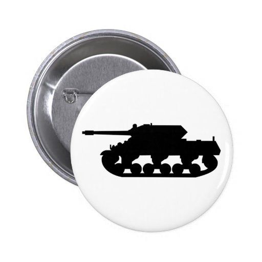 Botón simple del tanque