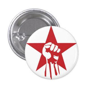 Botón socialista del puño