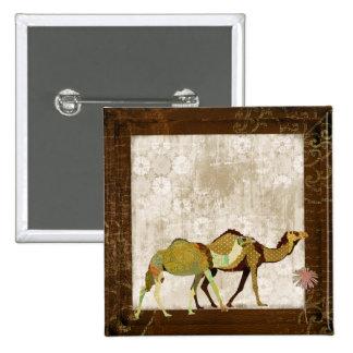 Botón soñador del camello pin