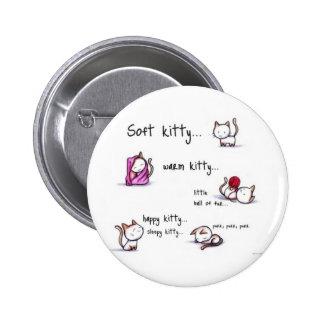 botón soñoliento del gatito