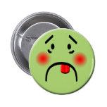 Botón sonriente enfermo pins