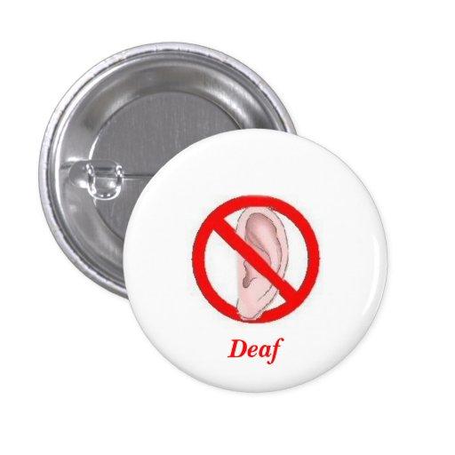 Botón sordo pequeño
