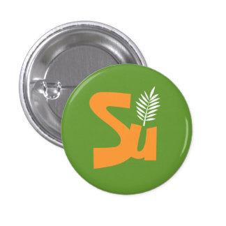 Botón sostenible de Sumatra Pin