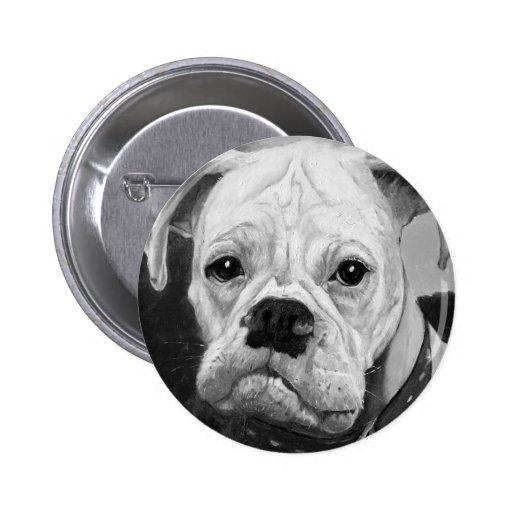 Botón Std del amor del boxeador Pin