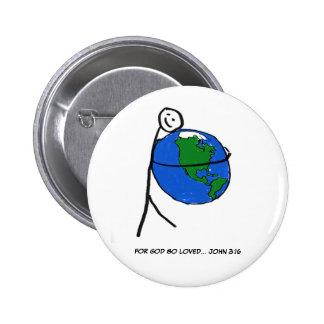 Botón Tan-Amado Pin