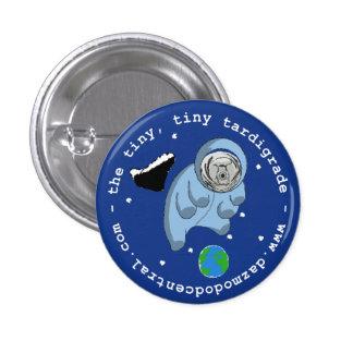 Botón tardígrado de Astro Pin Redondo De 1 Pulgada