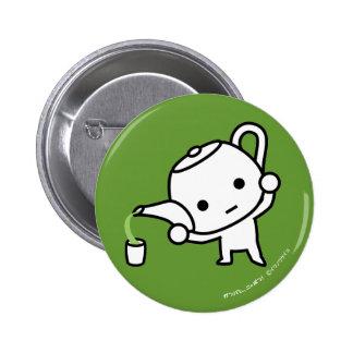 Botón - té verde - dolar pins