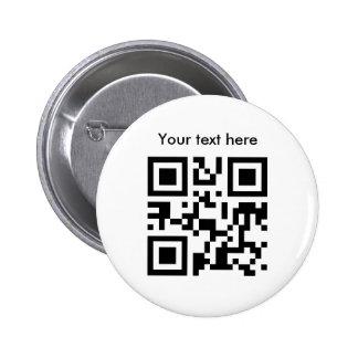 Botón (texto de encargo) pins