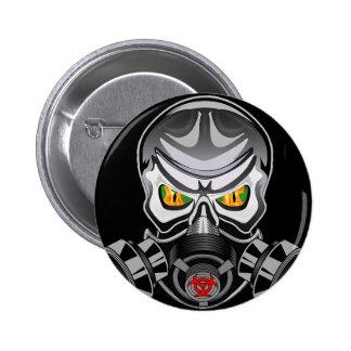 Botón tóxico chapa redonda 5 cm