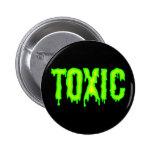 Botón tóxico pin