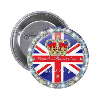 Botón trasero conmemorativo del Pin del jubileo de