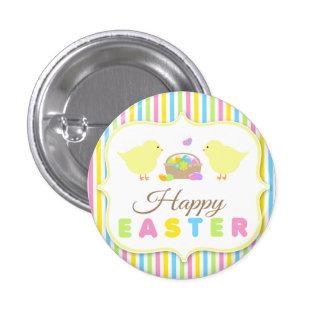 Botón trasero del Pin de los polluelos felices de
