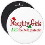 Botón travieso de los chicas pins