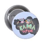 Botón ultra de Kawaii - de Kama Cutzie Pins