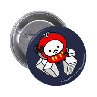 ¡Botón - VAYA! ¡Robot de Daruma!! Pin