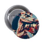 Boton Velociraptor Pin Redondo De 2 Pulgadas