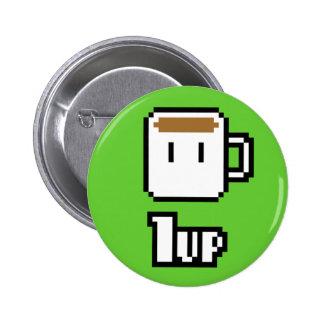 Botón verde de ciclo inicial de la mañana