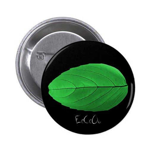 Botón verde de la hoja de EeCcOo Pins