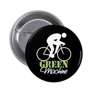 Botón verde de la máquina