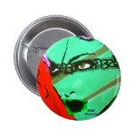 Botón verde del chica pins