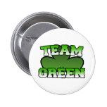 Botón verde del equipo pin